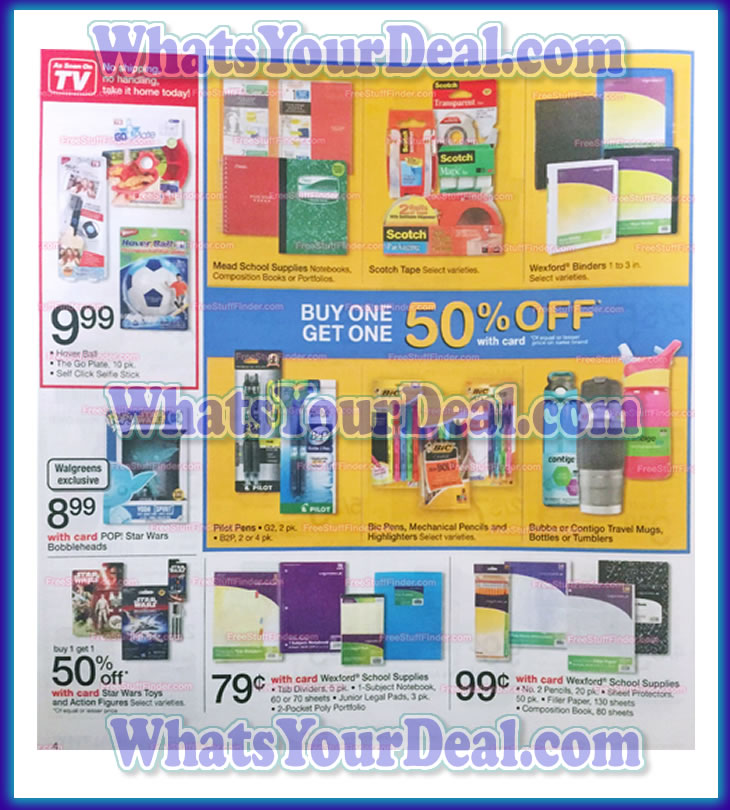 Walgreens Ad Scan September 6th 2015 - September 12th 2015
