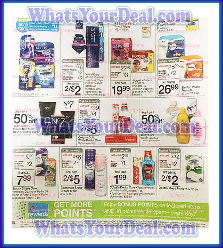 Walgreens Ad Scan September 20th 2015 - September 26th 2015